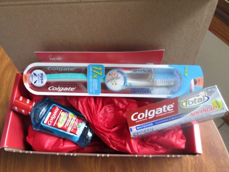 Thanks to Influenster and Colgate for this great box!!!